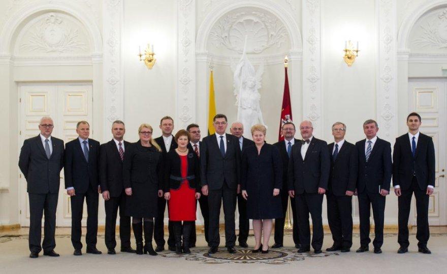 Prezidentės susitikimas su Vyriausybės nariai
