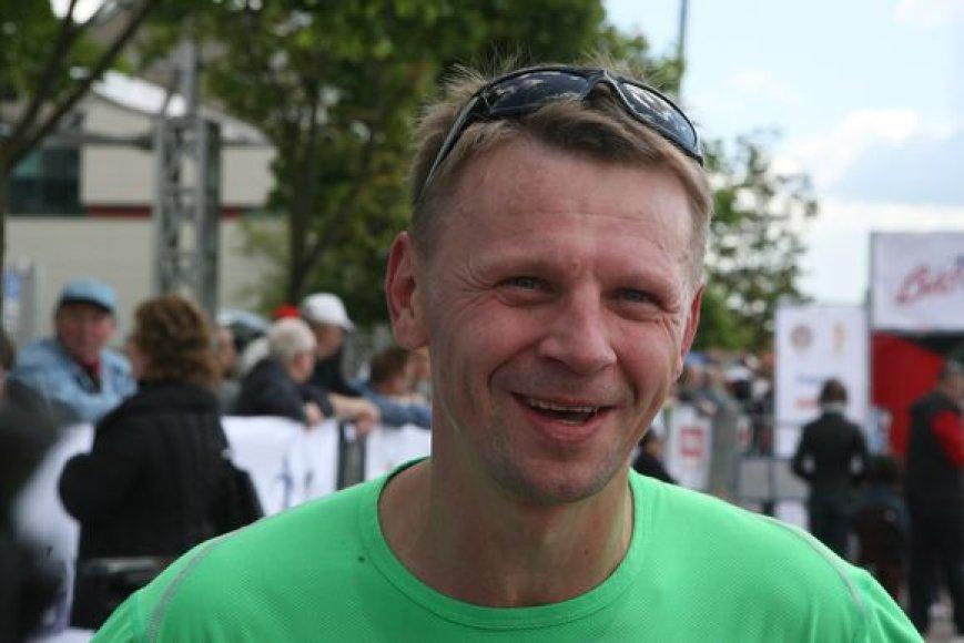 """Bėgimas """"Bėkime kartu su Živile Balčiūnaite"""". Rolandas Kazlas."""
