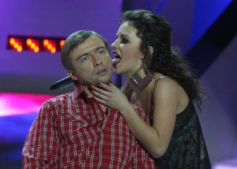 Mariaus Jampolskio ir Irūnos pasirodymas