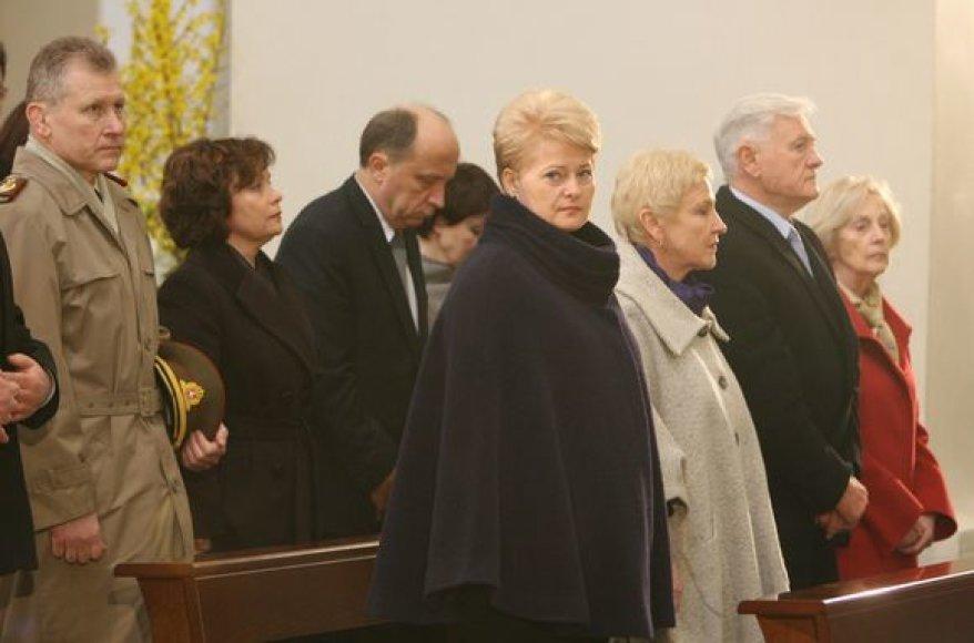 Vilniaus arkikatedroje aukojamos gedulingos Šv. Mišios