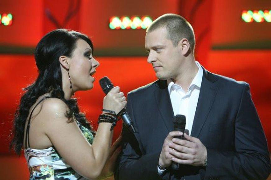Giedrė Balutytė ir Vilius Tarasovas