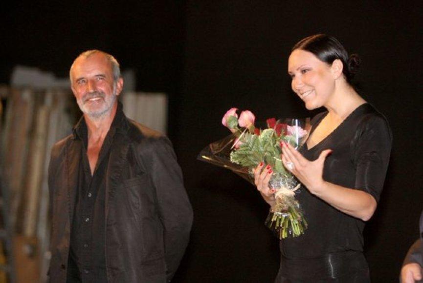 Teatro vadovą Rimą Tuminą keičia Greta Cholina