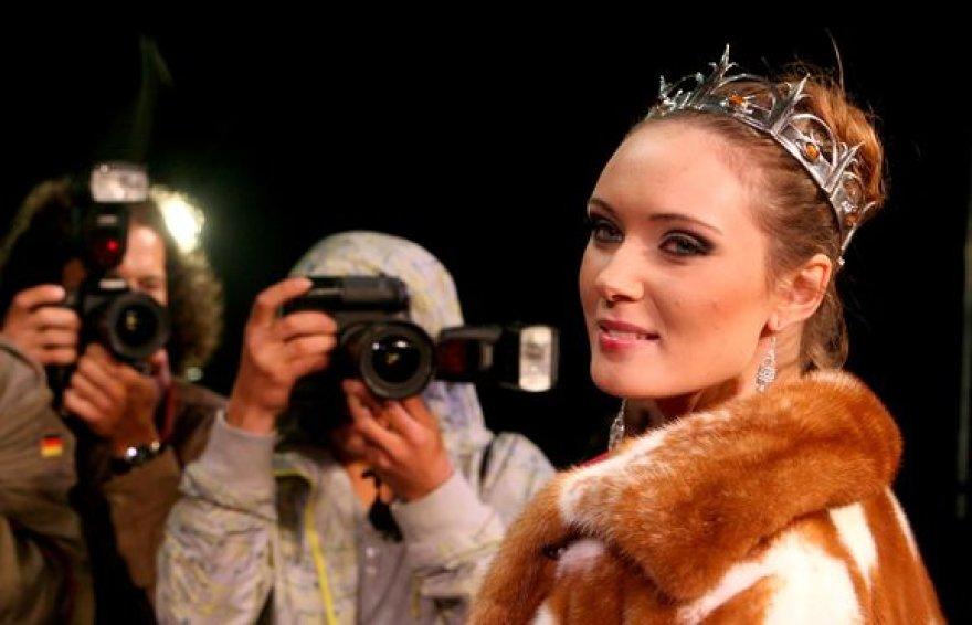 """""""Mis Lietuva 2010"""" finalo akimirka"""