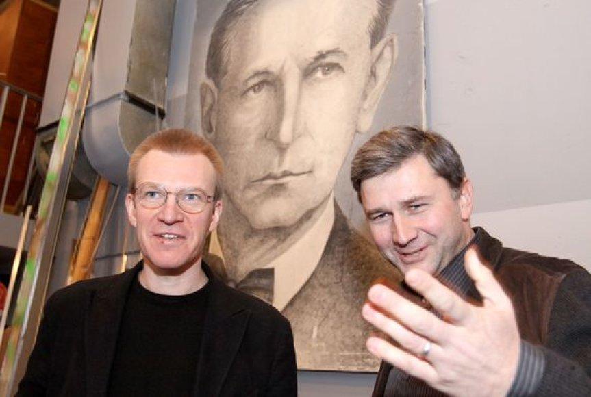 Martynas Budraitis ir Audronis Liuga