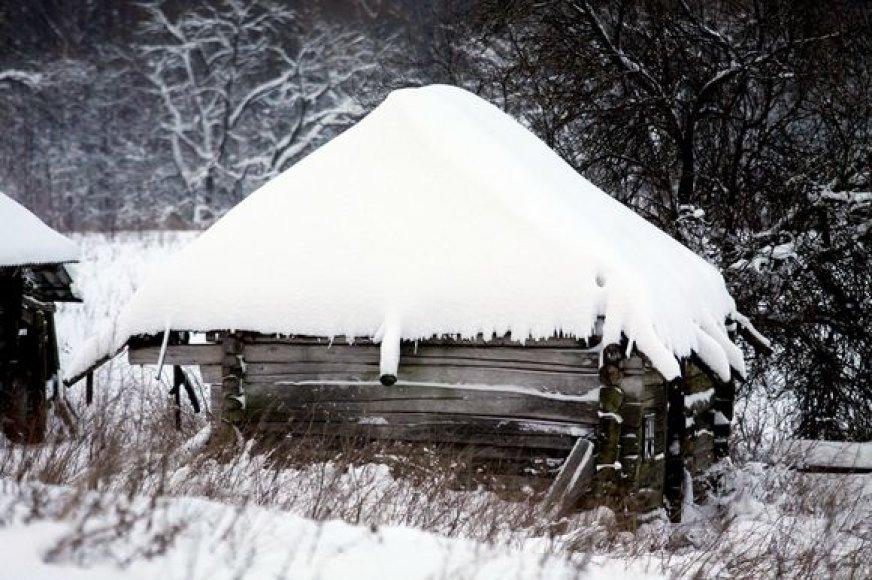 Gyvenimas šalia Vilniaus žiemiškomis sąlygomis