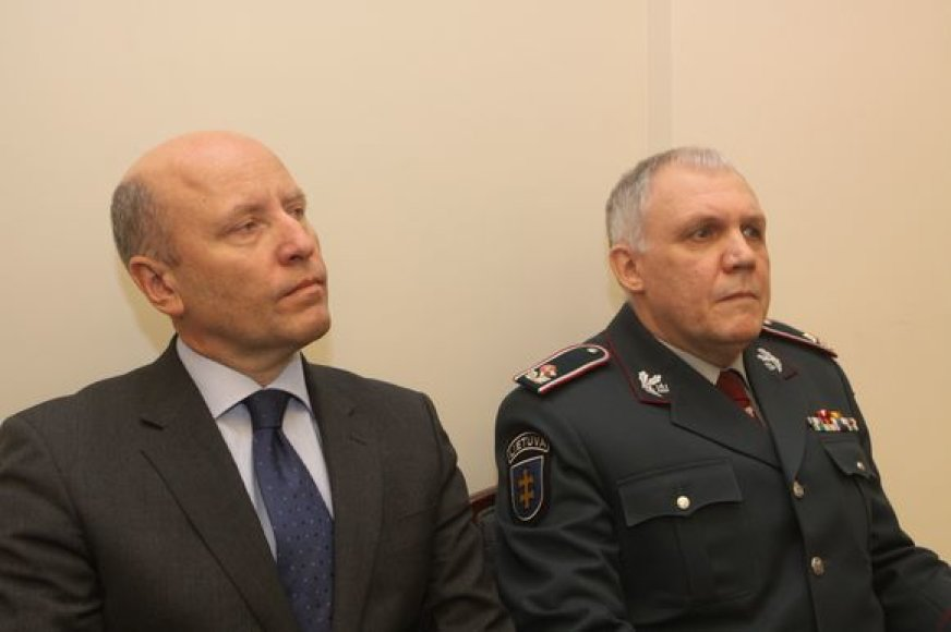 Raimundas Palaitis ir Vizgirdas Telyčėnas