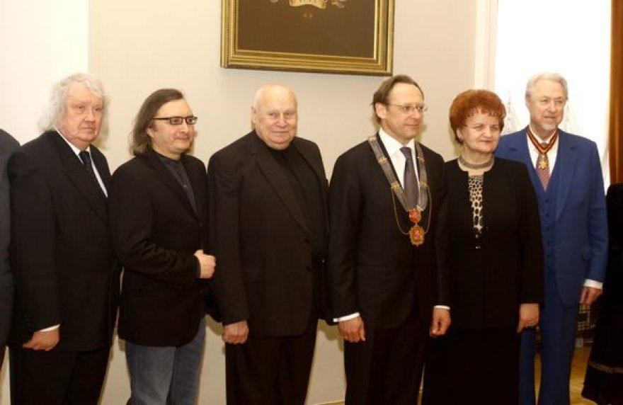 Kultūros dieną apdovanoti Lietuvos menininkai