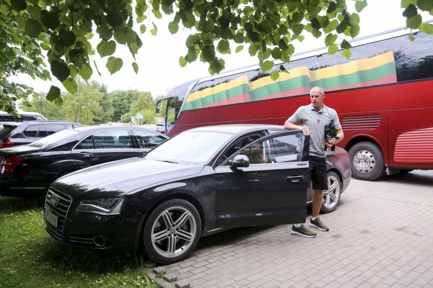 Irmanto Gelūno / 15min nuotr./Lietuvos rinktinės krepšininkai susirinko į pirmąją stovyklą Palangoje