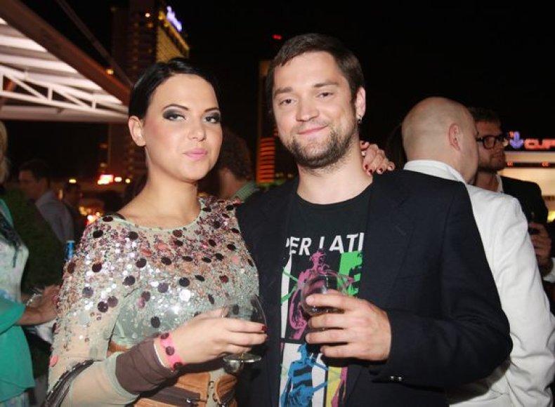 Justė Arlauskaitė-Jazzu ir Leonas Somovas