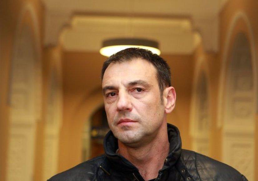 Aleksandras Trifunovičius Vilniaus oro uoste