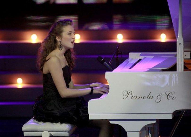 Solistė Dorotėja Kravčenkaitė