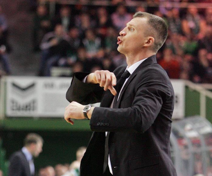 """Prokom"" treneris T.Pačėsas"