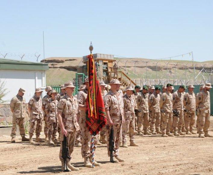 misiją Afganistane pradėjo devintoji Lietuvos karių pamaina.