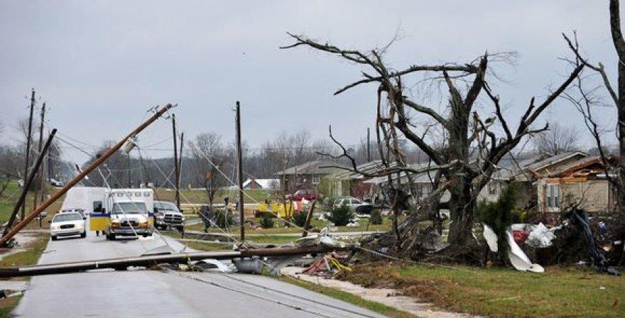 Uraganas siaubė JAV