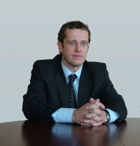 """UAB """"Snoro lizingas"""" generalinis direktorius Aurelijus Šveikauskas."""