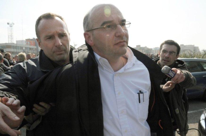 Nicolas Polutnikas – vienas iš paleistų įmnonės vadovų.