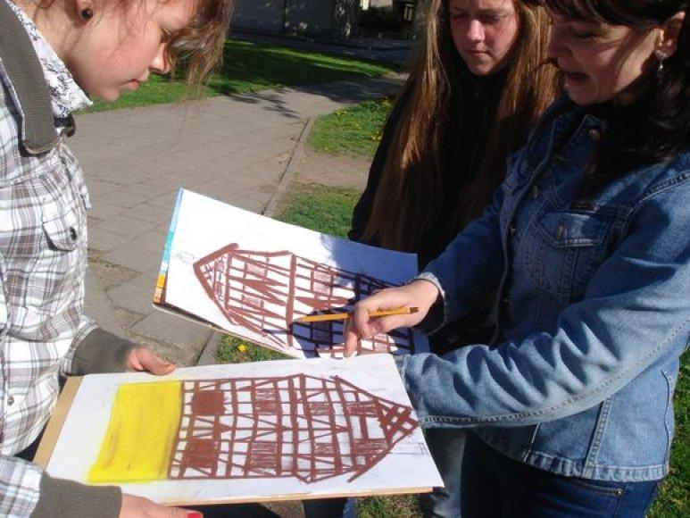 Klaipėdos kultūrinį žemėlapį jaunieji klaipėdiečiai kūrė beveik du mėnesius.