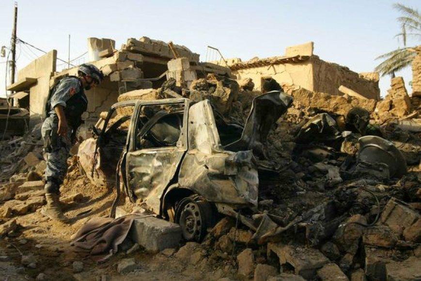 Savižudžio išpuolis Irake