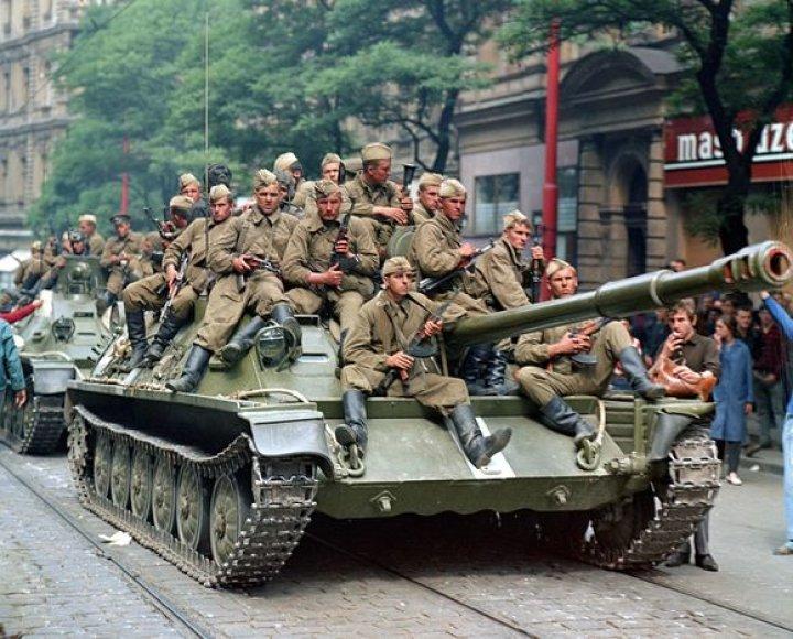 Sovietų tankas