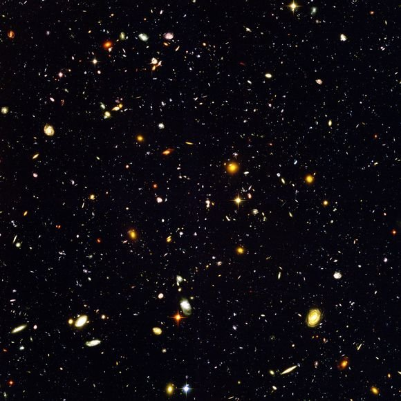 """Hubble Ultra Deep Field"" sritis"