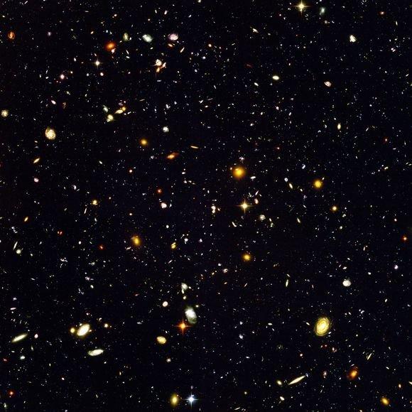 """""""Hubble Ultra Deep Field"""" sritis"""