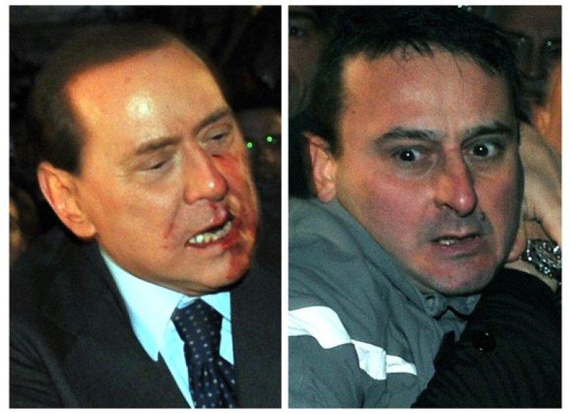 S.Berlusconi ir jo užpuolikas