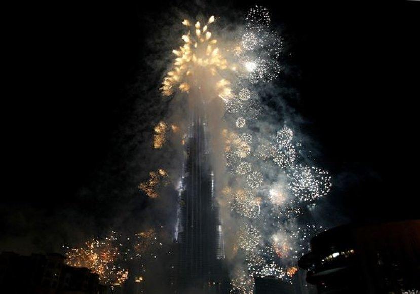 """""""Burj Dubai"""" iškilmingas atidarymas"""