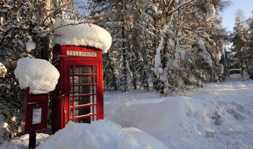 Sniegas Škotijoje