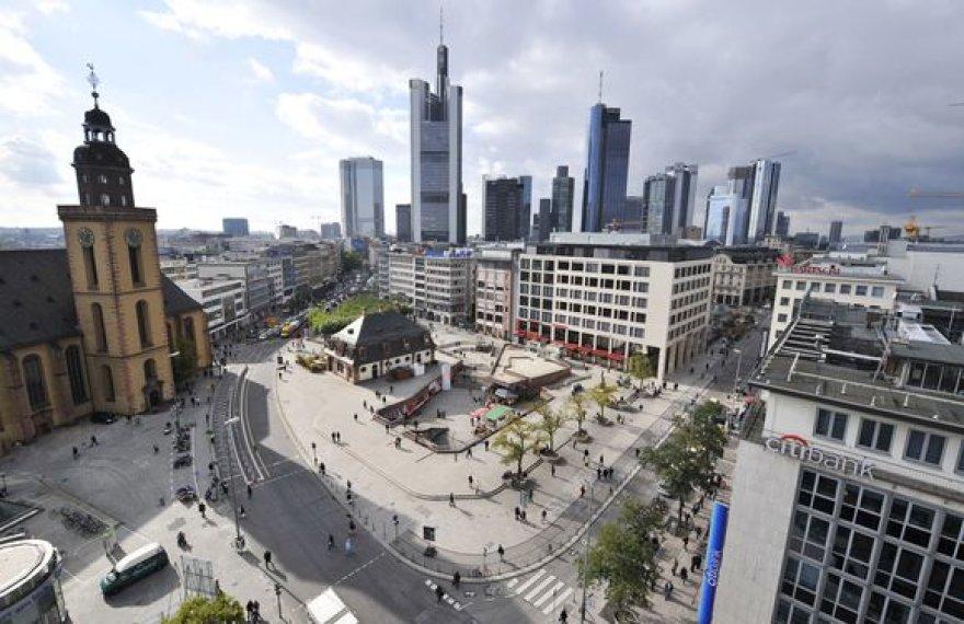 Frankfurto finansinis centras