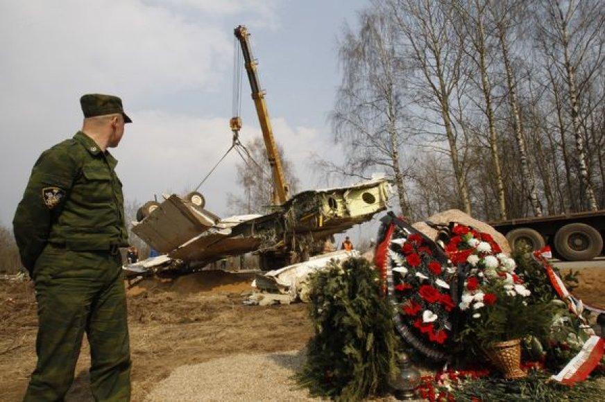 Sudužęs Lenkijos prezidento lėktuvas