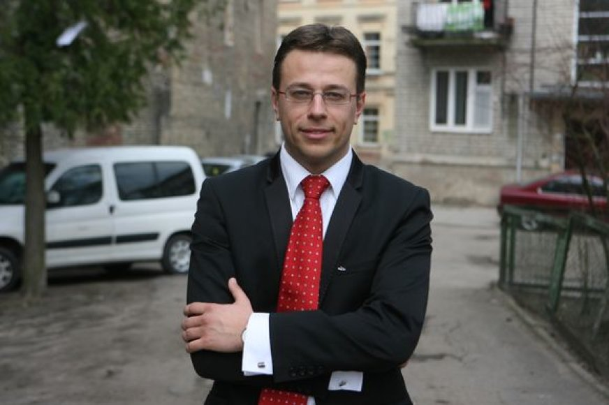 Sveikatos apsaugos ministerijos Europos Sąjungos paramos skyriaus vyriausiasis specialistas Vaidas Šadzevičius