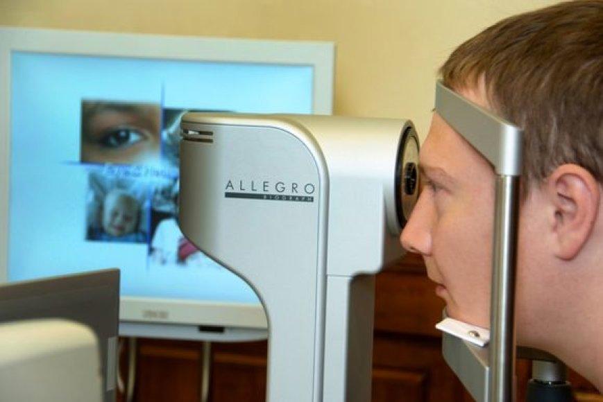 """Klinika """"Novoye Zreniye"""" teikia oftalmologinę pagalbą."""