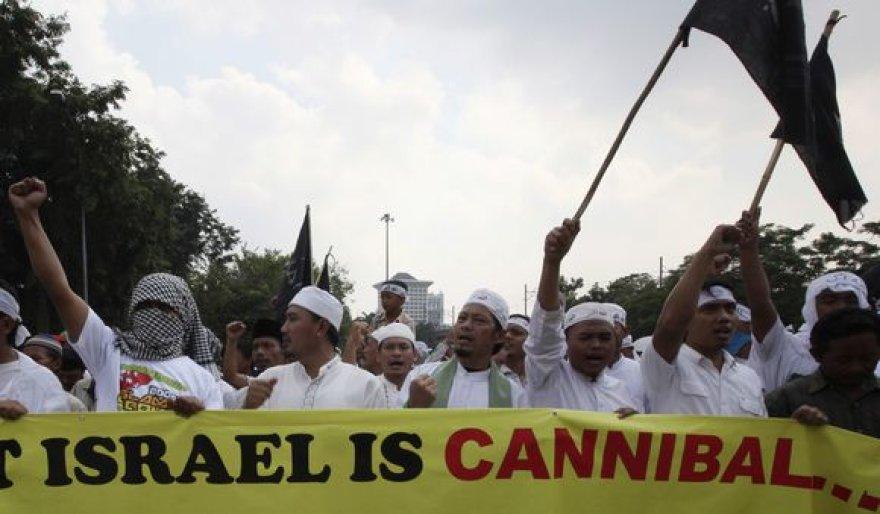 Visame pasaulyje kilo prieš Izraelį nukreipti protestai