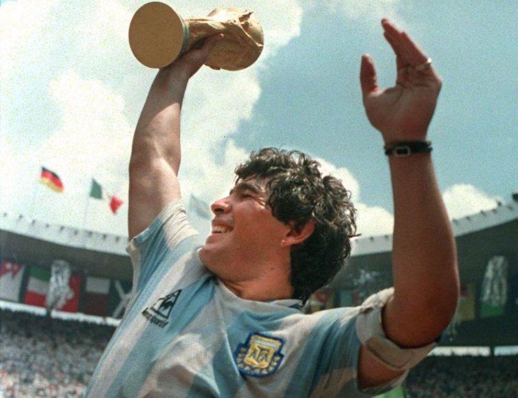Maradona 1986-aisiais