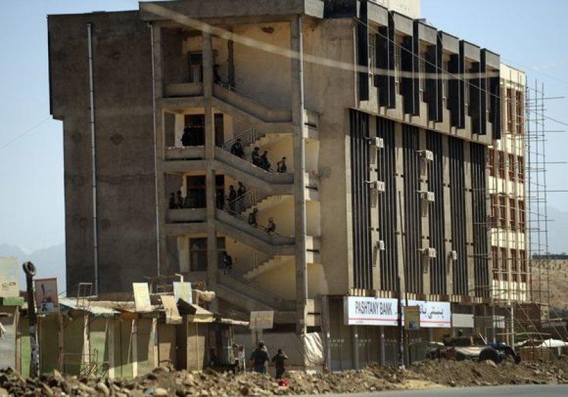 Bankai Kabule neretai tampa plėšikų taikiniu