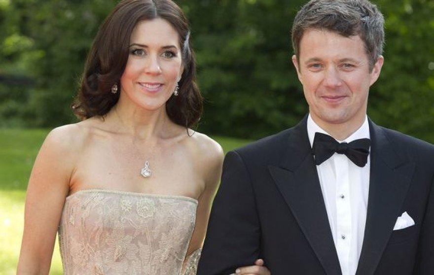 Danijos sosto įpėdinio žmona princesė Mary