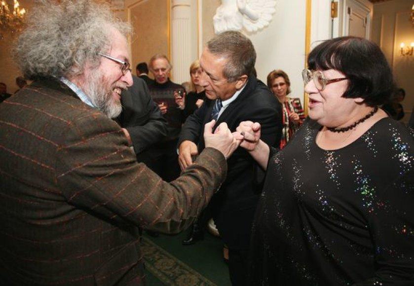 Aleksejus Venediktovas su svečiais