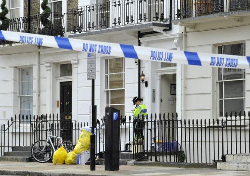 Policija dirba įvykio vietoje