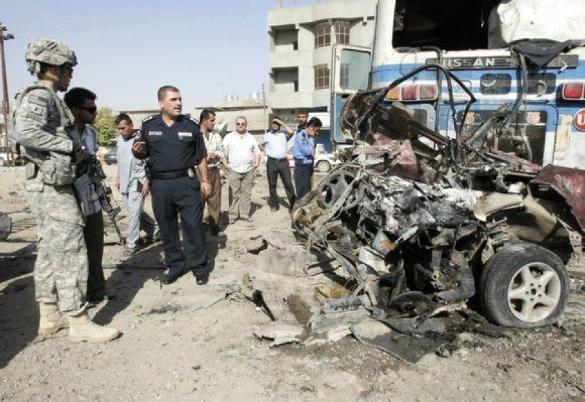 Sprogimai Bagdade