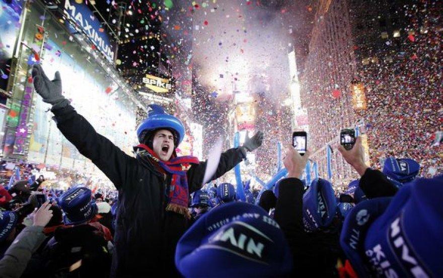Naujųjų metų sutikimas Niujorke