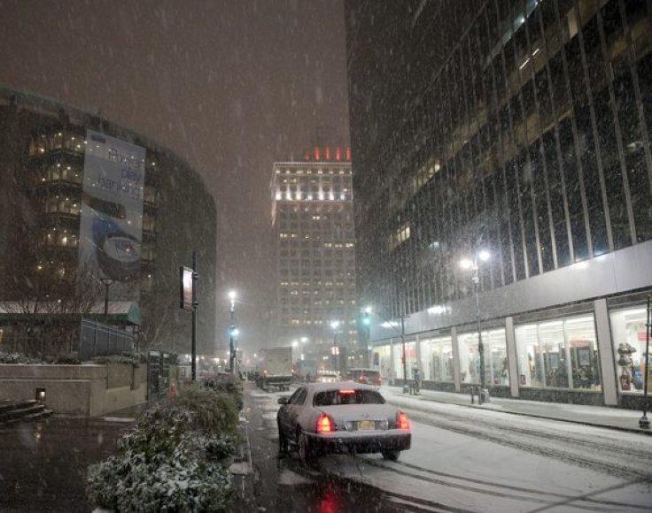 Sniegas Niujorke