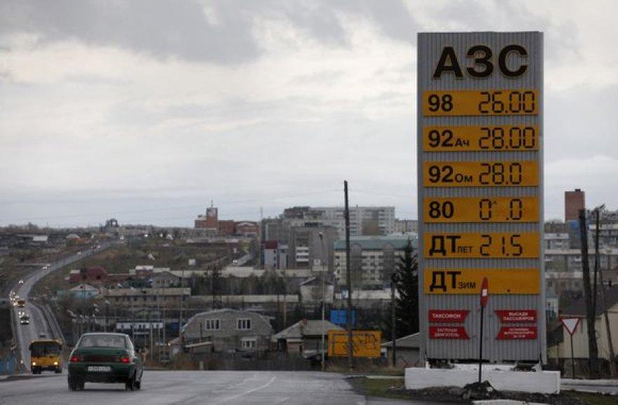 Rusijoje – degalų krizė