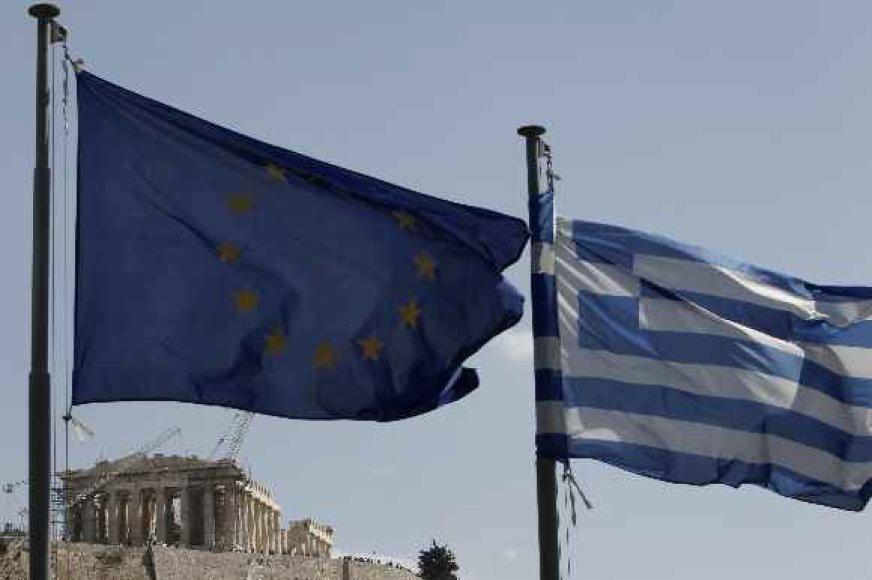 Graikija gali pasitraukti iš euro zonos