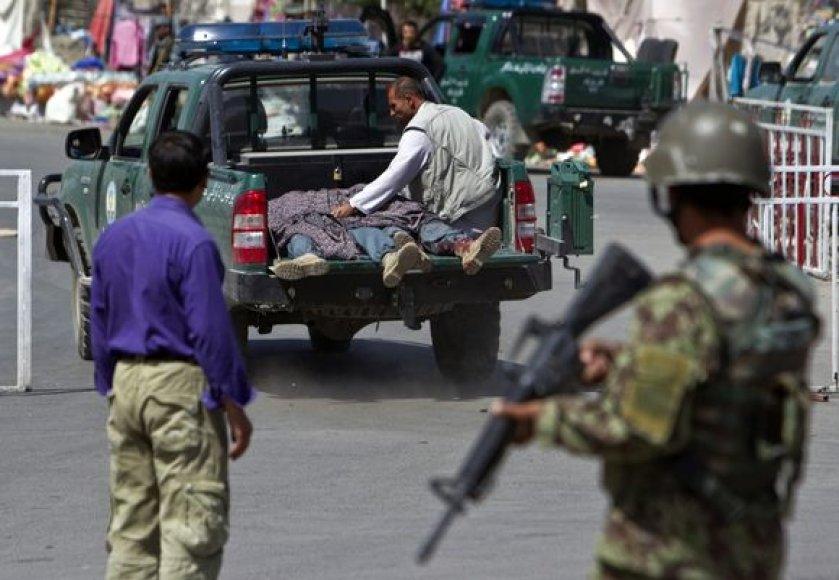 Po sprogimo Kabule