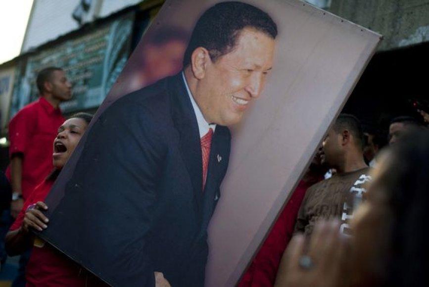 Hugo Chavezo šalininkai