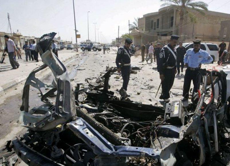 Sprogimas Irake