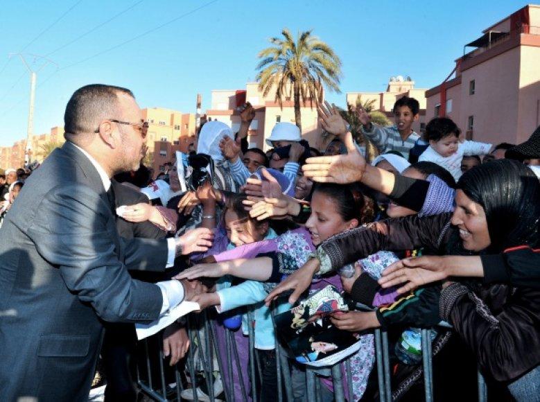 Maroko karalius Mohammedas