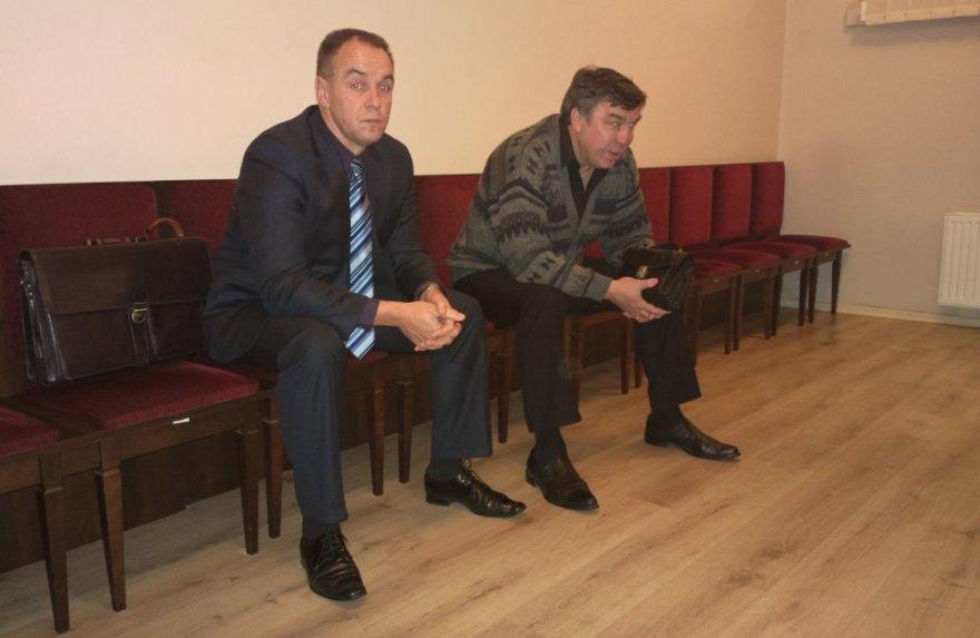 Vilius Šlaičiūnas (kairėje) ir Algirdas Jančiauskas