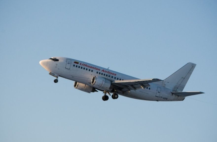 """""""flyLAL""""  lėktuvas"""