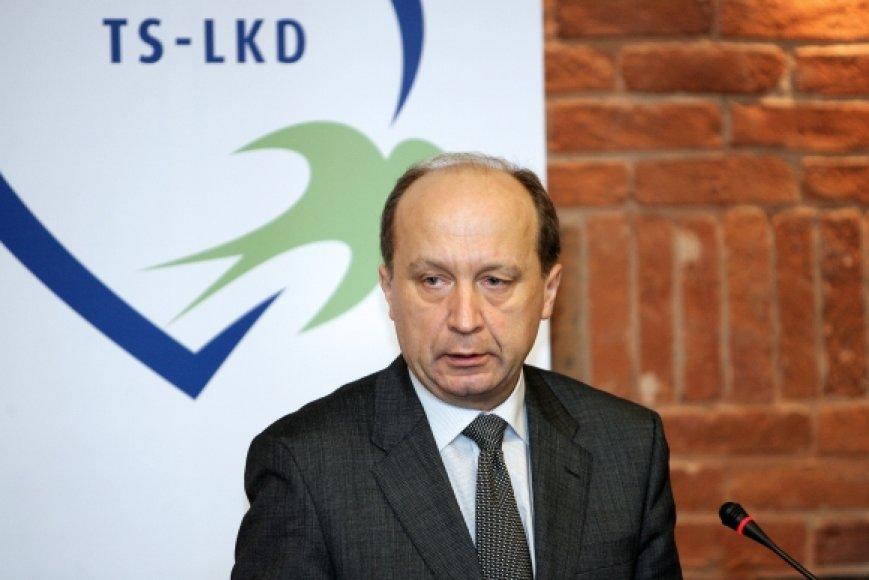 Premjeras A.Kubilius partijos tarybos posėdyje